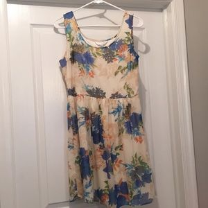 Charming Charlie patterned flower dress